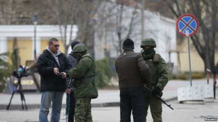 Journalists stopped and searched in Crimea