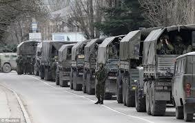 Unidentified troop movements in Balaclava