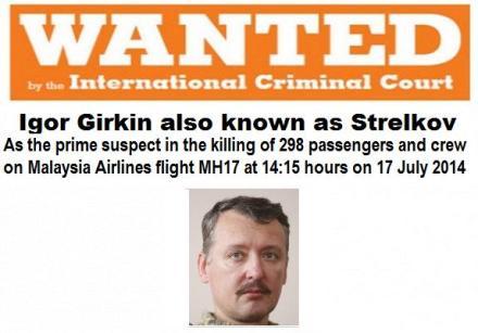 Strelkov wanted