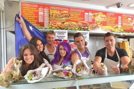 Geordie shore's kebab shop