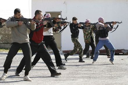 Western jihadists in training in Syria