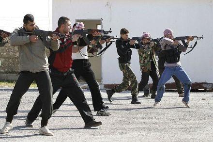 Western jihadists in training in Syria
