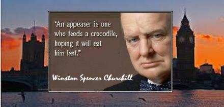 WS Churchill - appeasers