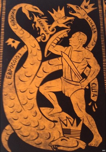 Putin grapples with the multi-headed hydra - of Western sanctions!